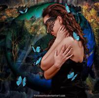 Lady Butterfly by Fotomonta