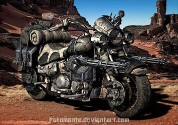 Wasteland Road Cruiser by Fotomonta