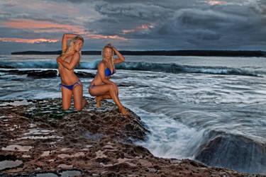Seascape twins by Kounelli1