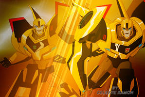 Robots In Disguise: Bumblebee by celtakerthebest