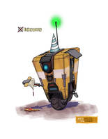 Claptrap's Birthday Bash! by McGillustrator
