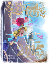 Happy Derby 2015! by McGillustrator