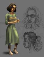 Original Character Concept (2) by McGillustrator