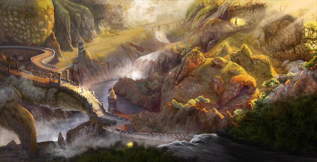 Dragon's Pass by McGillustrator
