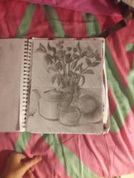 Another still life in pencil by AutisticXArtistic