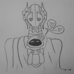 OTP Month: General Grievous X Eve #3 by Sunstar-Of-The-North
