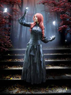 Fairies In The Autumn Forest by AliaChek