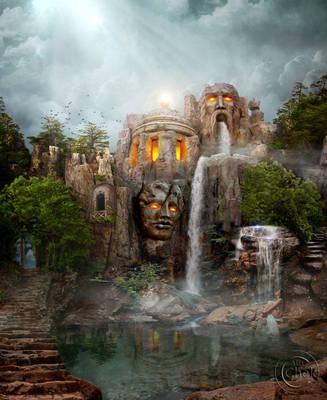 Mysterious Lake by AliaChek