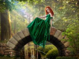 Forest Fairy by AliaChek
