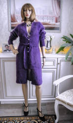 Knitted Coat by AliaChek