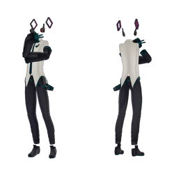 Tda Fitted Vocaloid Outfit(male) +DL by Coddie215