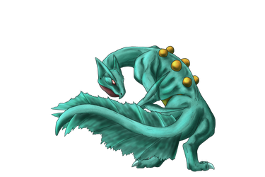 Shiny Sceptile collab by Makoes