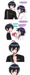 But thats Kokichis lie isnt it? by Haoiki