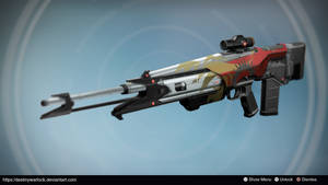 Antares: Exotic Scout Rifle Concept by iccirrus by DestinyWarlock