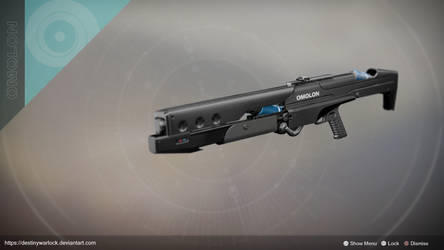 Omolon Shotgun Frame by DestinyWarlock