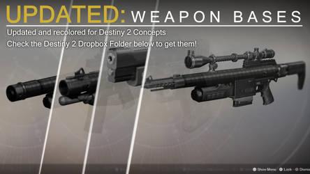 D2 Weapon Bases by DestinyWarlock