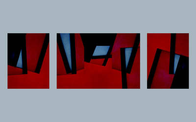 Red abstract by MissUmlaut