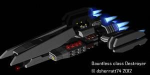 Dauntless class Destroyer by dsherratt74