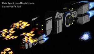 White Storm class Missile Frigate by dsherratt74