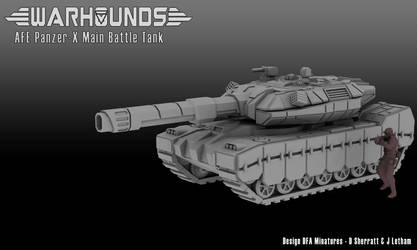 Panzer-X AFE Main Battle Tank by dsherratt74