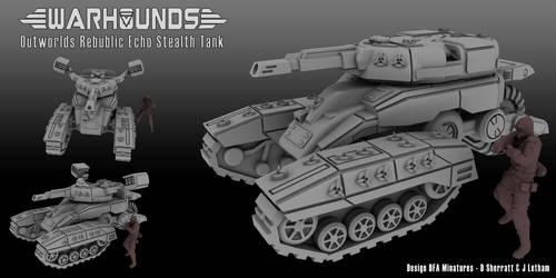 Outworlds Republic Echo Stealth Tank by dsherratt74