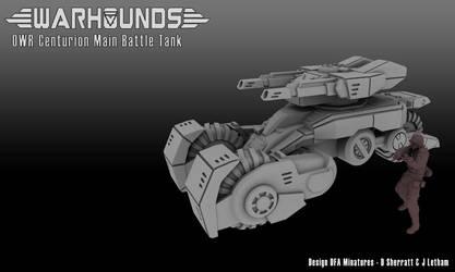 Outworlds Republic Centurion Battle Tank by dsherratt74