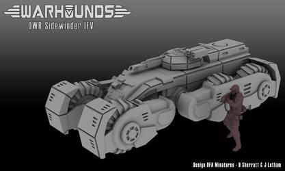 Outworlds Republic Sidewinder IFV by dsherratt74