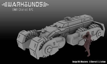Outworlds Republic Chariot APC by dsherratt74