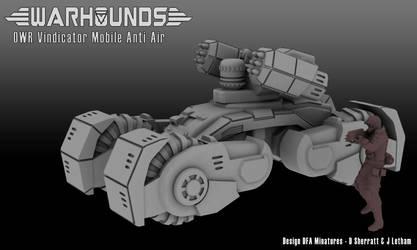 Outworlds Republic Vindicator Anti-Air by dsherratt74