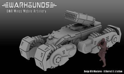 OWR Minos Mobile Artillery by dsherratt74