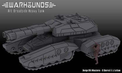 AFE Broadside Heavy Tank by dsherratt74