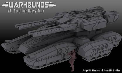 AFE Excalibur Heavy Tank by dsherratt74