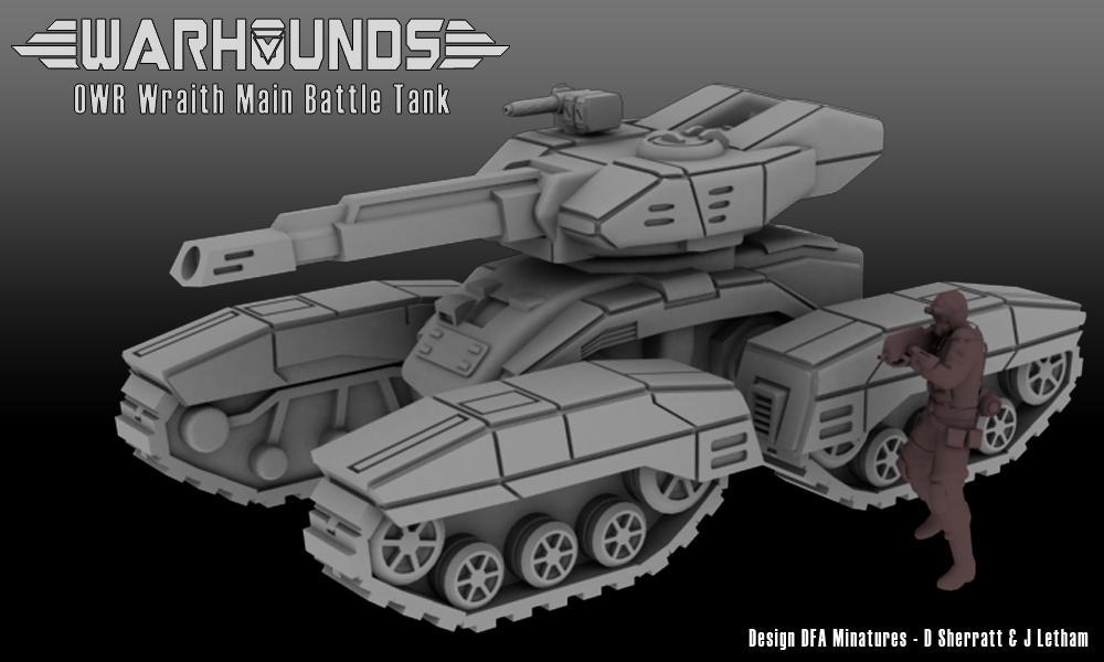 Outworlds Republic Wraith Main Battle Tank by dsherratt74
