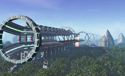 Ring Station by valery-medved
