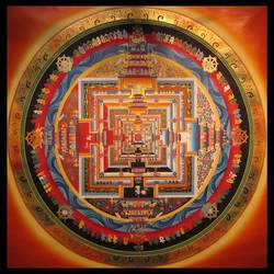 Kalachakra Mandala by Michel8170