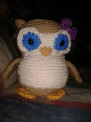 Owl Amigurumi by TalaRedWolf33