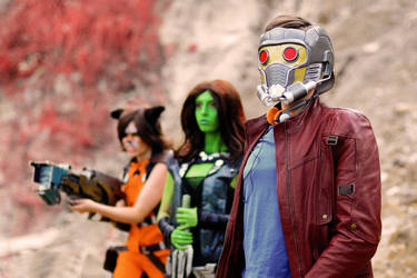 Star Lord and Guardians by Shamrock-Cosplay
