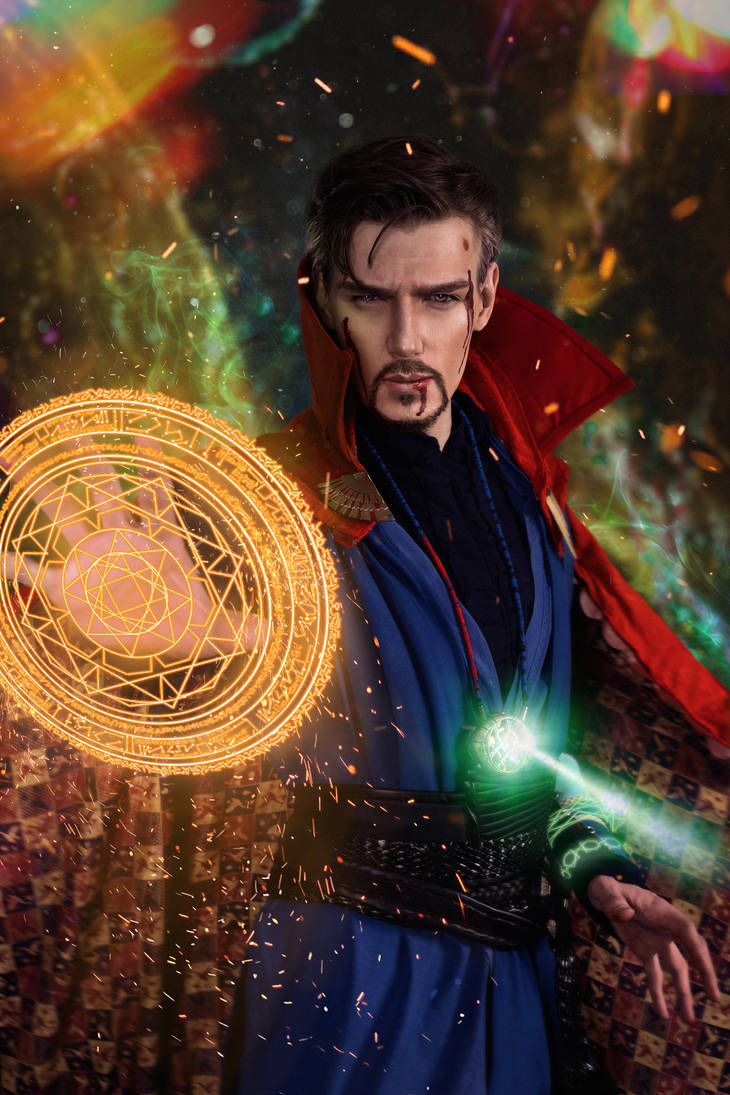 Doctor Strange by Shamrock-Cosplay