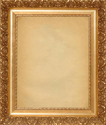 Small Gold Picture Frame by REFPHOTO