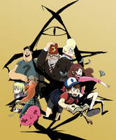 Wecolme to Gravity Falls by tunaniverse