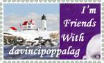 davincipoppalag stamp by David-A-Wagner