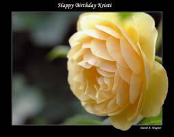 Happy Birthday Kristi by David-A-Wagner