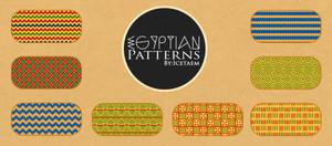 Egyptian Patterns by Icetaem