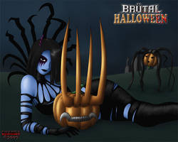 Brutal Halloween by ZhaneBX