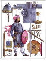 medieval warrior by byzantinum