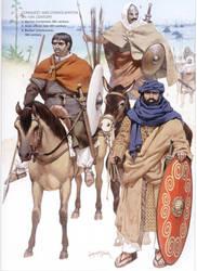 moorish warriors by byzantinum