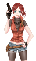 Claire Redfield by Ariettys