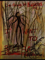 The Slender Man by aStrangerInParadise