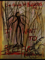 The Slender Man by aStrangerInParadise
