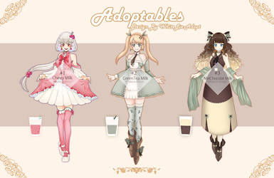 [OPEN2/3]AUCTION Sweet Girls by WhiteLie-Adopt
